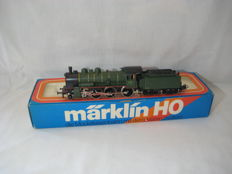 Märklin H0 - 3086 - Steam locomotive with tender Series 64 of the SNCB