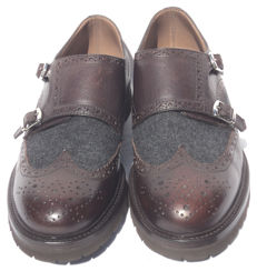 Brunello Cucinelli - Double Monk Strap Wingtip Loafers