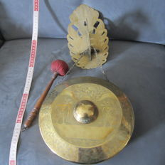 Brass gong – Java – Indonesia