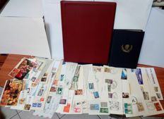 World 1938/2010 - Collection of First Day Covers and stamps