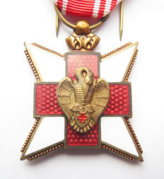 Belgian Red Cross medal. 20th century