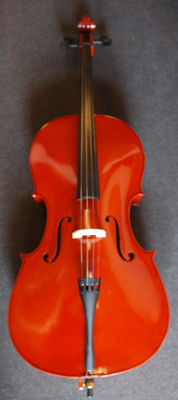 New Cello 3/4 adult size with cover and bow