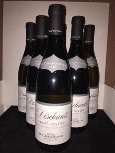 2016 Saint-Joseph white 'Deschants' M. Chapoutier x 12 bottles