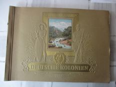 "Collection picture album ""German colonies"" 1936"