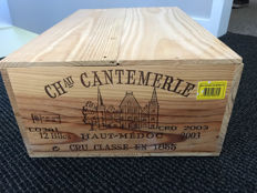 2003 Chateau Cantemerle, Haut-Medoc - 12 bottles (75cl) in OWC
