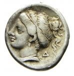 Greek Antiquity - Corinthia. Corinth. AR Drachm, 350-306 B.C.