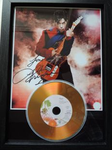 Stunning Prince - Wenn Doves Cry - Signed Autograph(in print) Cd - The Revolution - The Symbol