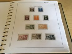 Spain 1950/1969 - collection of stamps in an album.