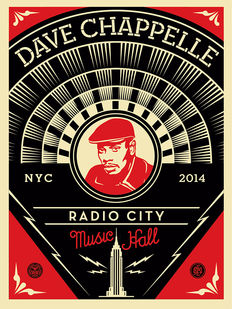 Shepard Fairey (OBEY) - Dave Chappelle