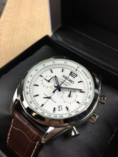 Seiko Alarm Chronograph reference: SSB095P1 – men's watch