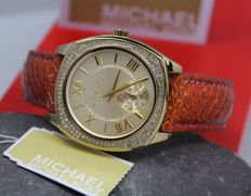 Michael Kors – Ladies MK2387 Gold Plated Designer Watch – New & Mint Condition