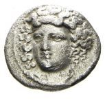 Greek Antiquity - Thessaly, Larissa. AR Drachm, 352-325 B.C.