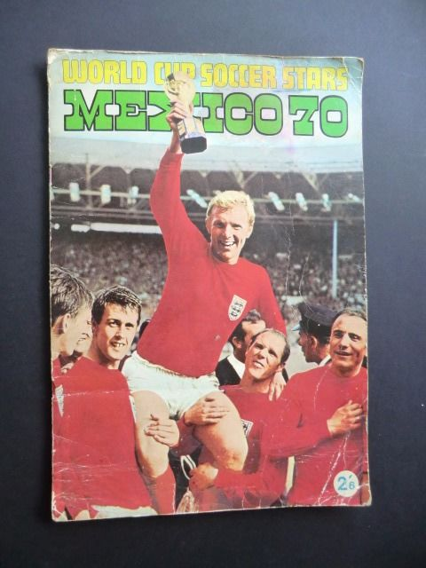 Panini variant -FKS World Cup Soccer Stars Mexico 70 - English edition of VanderHout album Mexico 70 - Complete album.