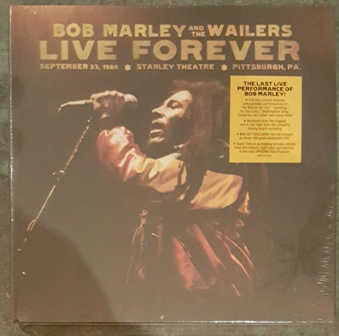 "Bob Marley  ""Live Foerever""  3 LPS"