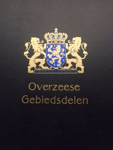 Netherlands Overseas territories – Collection in two Davo LX albums