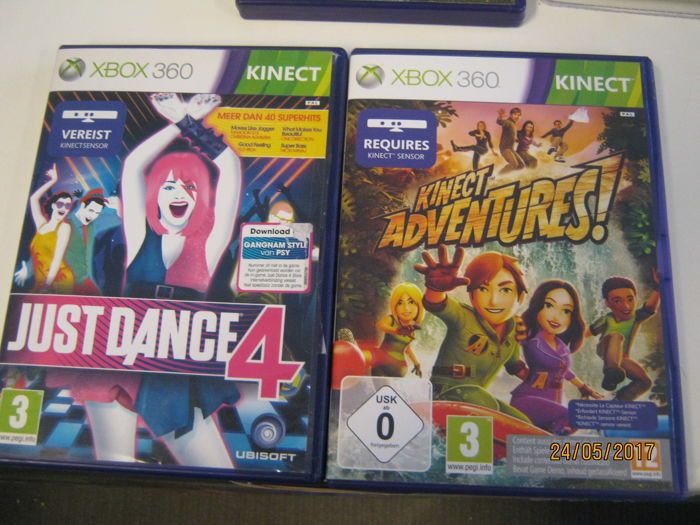 Normal Games For Xbox : Nice xbox lot normal games kinect and one