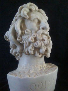 Marble head of Odysseus - Italy - 1957