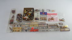 Preiser/Merten/Noch H0 - Collection scenery for the course +/-30 boxes and loose items including figures, animals, goods and vehicles