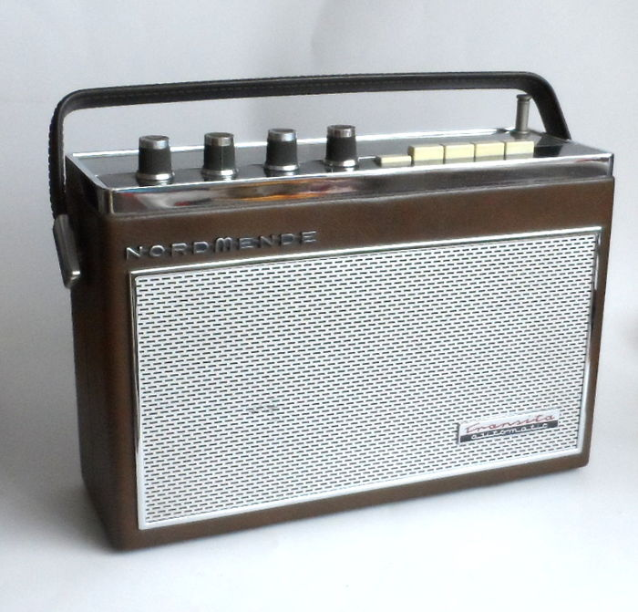 Nordmende Portable Radio Transita Automatic From 1965 Catawiki