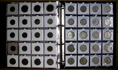 Ireland - Farthing up to and including Pound 1769/2000 (200 different coins) including silver in album