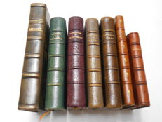 7 volumes of Religious works in French - 1888-1903