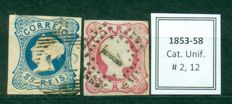 Portugal 1853/2005 - Large collection of 1.550 stamps + 7 minisheets.