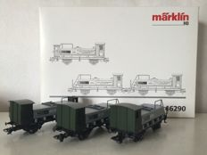 "Märklin H0 - 46290 - 3-piece ""Spiritus"" train carriage set of the K.Bay.Sts.Bahn"