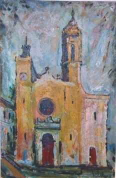 Joaquim Hidalgo Pages (1933 - 2011) - Catedral (Cathedral)