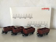 Märklin H0 - 48270 - 4-delige set kolentransport van de DB