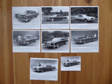 Official 1970's Lincoln Continental Pictures with Captions from Ford