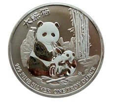 New Zealand - $2 - Niue Panda 2017 - First Edition - 999 Silver / Silver coin