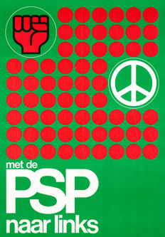 Bert Zijlstra - PSP (political party) - 1972