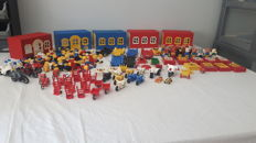 Assorted - Fabuland characters & parts + City + Home maker