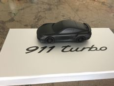 Porsche 911 Turbo - Solid aluminium - Very rare - Scale 1:43