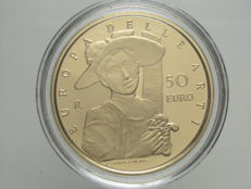 "Republic of Italy – 50 Euro, 2010 ""Europa delle Arti – Ungheria""/""Europe of Arts – Hungary"" – Gold"