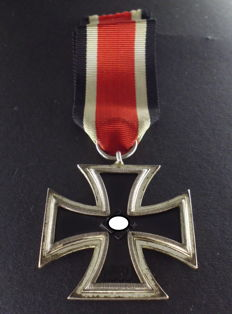 Iron Cross 2nd class, WW2, 3rd Reich, Germany Frost silver plating, rare