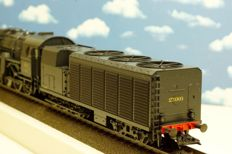 Märklin H0 - 37172 - Steam locomotive with condenser tender Series 27 of the SNCB