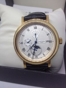 Rotary - Men's  Moon Phase Chronograph Watch