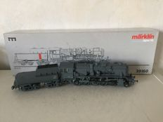 "Märklin H0 - 39160 - Steam locomotive with a bucket tender Series BR 42.90 ""Franco Crosti"" of the DB"