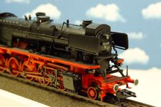 "Märklin H0 - 37040 - Steam locomotive with tender BR 50.40 ""Franco Crosti"" of the DB"