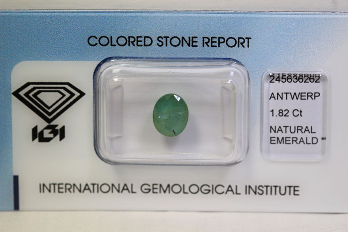 Emerald – 1.82 ct – No Reserve Price