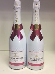 Moet & Chandon Ice Imperial Demi Sec Rose, Champagne - 2 bottles (0,75l)