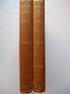Dr Adolph Harnack - history of dogma - 2 volume set - 1895