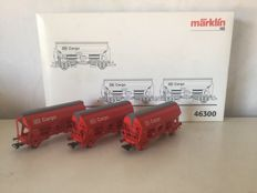 Märklin H0 - 46300 - 3 Side-unloaders of the DB cargo