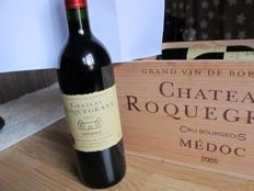 2005 Château Roquegrave, Medoc Cru Bourgeois, 12 bottles