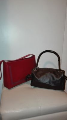 Coccinelle - Lot of 2 handbags with handle ***No minimum price***