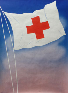 Henri Neveu - Red Cross (without text) - ca. 1950
