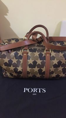 Ports 1961 - Camouflage Star-Print Duffle Bag.