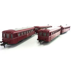 Fleischmann H0 -  1370/2 - 4-part  Railbus with trailers with VT98 / VS98 of the DB with interior lighting