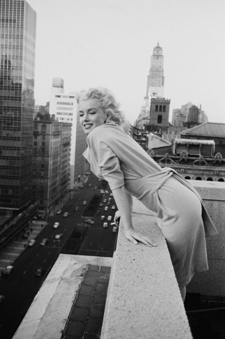 Ed Feingersh - 'Marilyn On The Roof' - New York - 1955